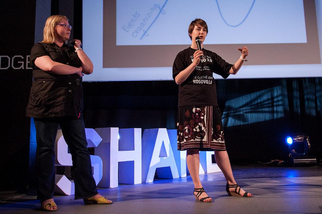 """Anna & Alicja daju recept za """"supu"""" (Foto: {a href=""""Anna Kuliberda & Alicja Peszkowska"""" target=""""_blank""""}Share Conference{/a})"""